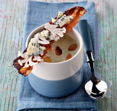 Creamed cauliflower with Bleu d'Auvergne