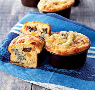 Mini muffins al Bleu d'Auvergne