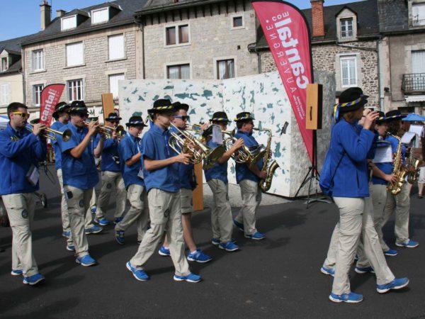 Le Bleu d'Auvergne fait son show à Riom-ès-Montagnes