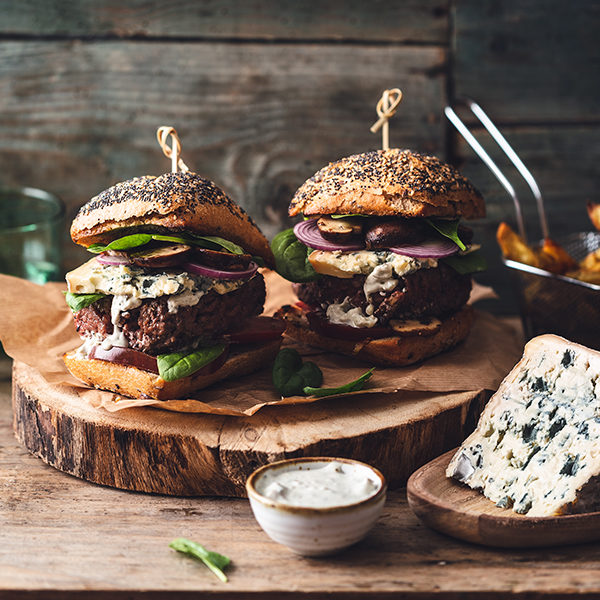Burger au Bleu d'Auvergne